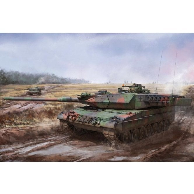 Border Models 1:35 Leopard 2A5/A6 Early & 2A5/2A6 Late 3 in 1 Military Model Kit
