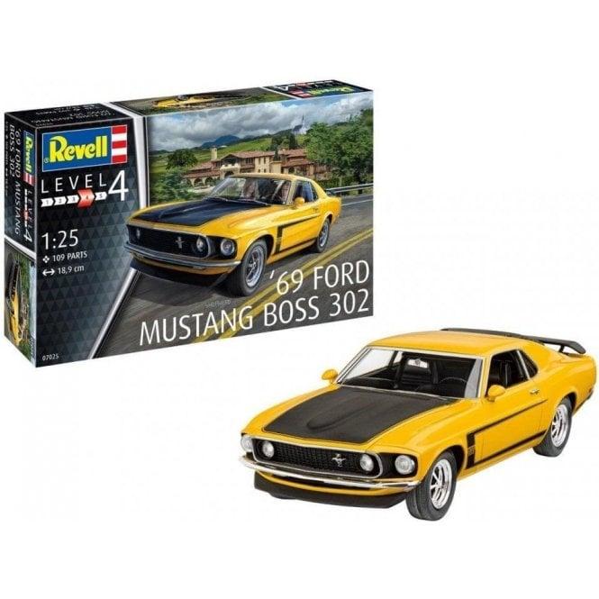 Revell 1:25 1969 Boss 302 Mustang Model Kit