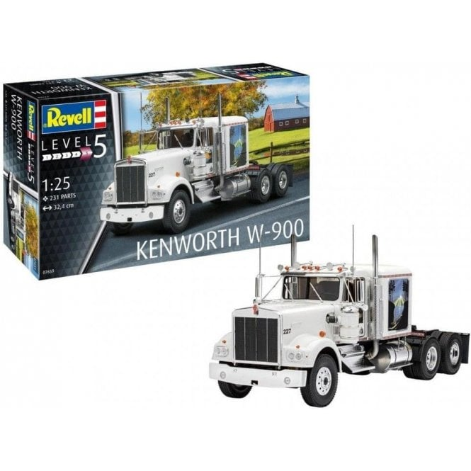 Revell 1:25 Kenworth W-900 Truck Model Kit