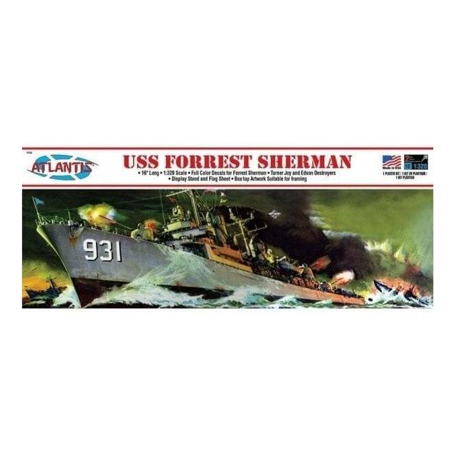 Atlantis Models 1:319 USS Forest Sherman Model Ship Kit