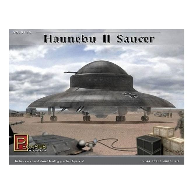 Pegasus 1:144 Haunebu II Saucer Model Kit