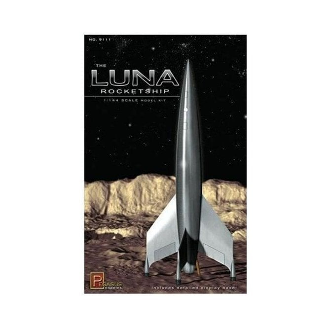 Pegasus 1:144 Luna Rocketship Model Kit