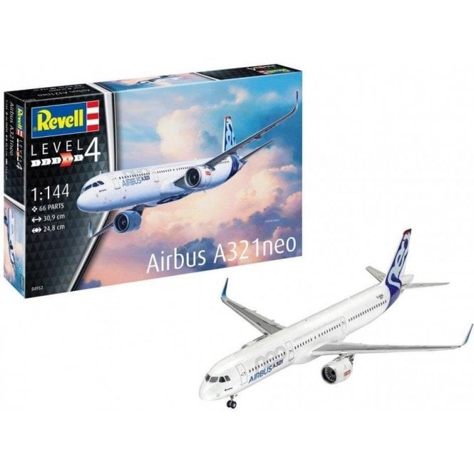Revell 1:144 Airbus A321 NEO (New Tool) Aircraft Model Kit