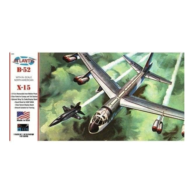 Atlantis Models 1:135 Boeing B-52 and X-15 Twin Set Aircraft Model Kit