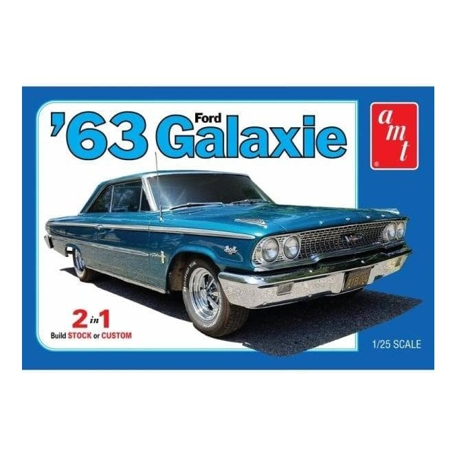 AMT 1:25 1963 Ford Galaxie Car Model Kit