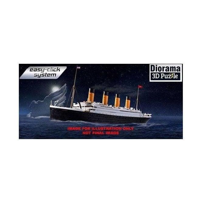Revell 1:600 RMS Titanic & 3D Puzzle Diorama Iceberg Model Ship Kit