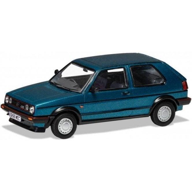 Corgi Vanguards 1:43 VW Golf Mk2 GTI 16V - Monza Blue Model Car