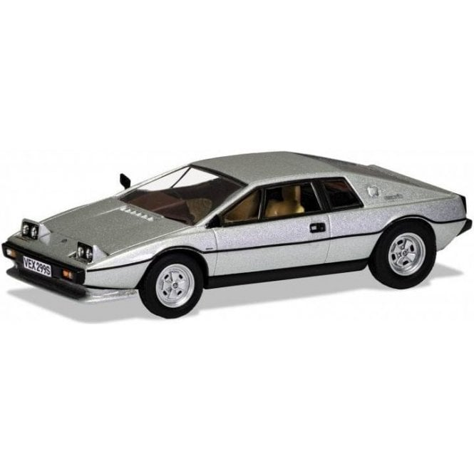 Corgi Vanguards 1:43 Lotus Esprit Series 1 - Colin Chapman's car - Silver Diamond Metallic Model Car