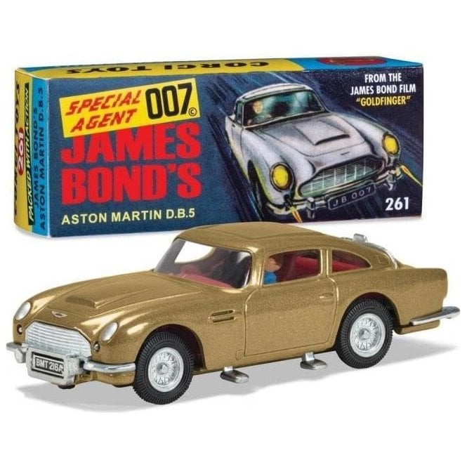 Corgi 1:43 James Bond - Aston Martin DB5 'Goldfinger' 60's version Model Car