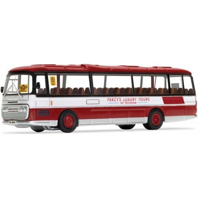 Corgi Only Fools and Horses - 'The Jolly Boys Outing' -  Plaxton Panorama - Percy's Luxury Tours of Peckham Model Car