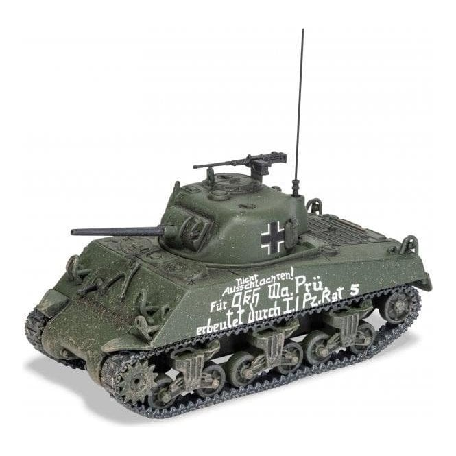 Corgi 1:50 M4A1 Sherman Beute Panzer (Trophy Tank), US Army, North African Campaign, Captured by l./Pz.Rgt.5, Tunisia, Early 1943