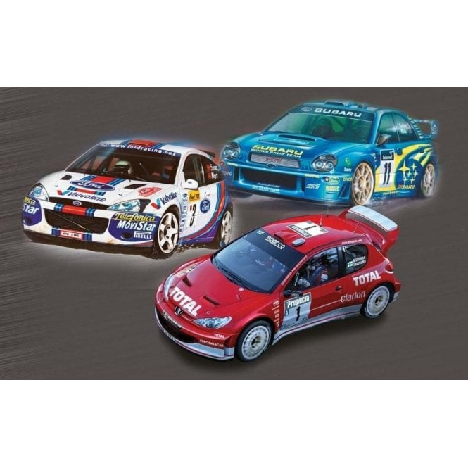 Airfix 1:43 Rally Car Collection Model Kit