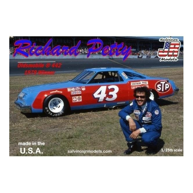 Salvinos J R Models 1:25 Richard Petty #43 Oldsmobile 442 Winner 1979 Model Kit