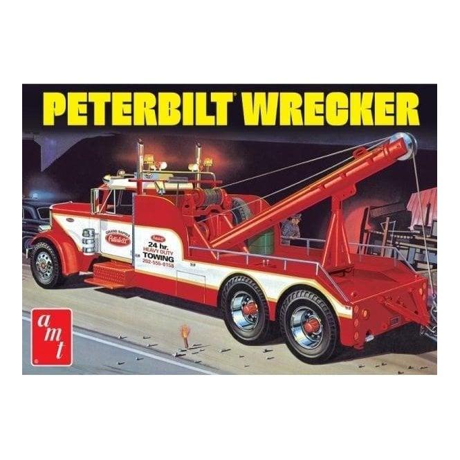 AMT 1:25 Peterbilt 359 Wrecker Truck Model Kit