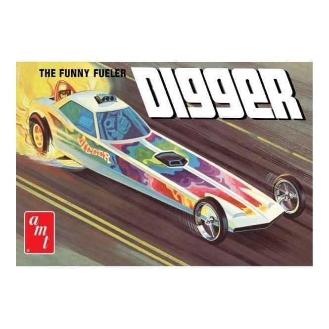 AMT 1:25 Digger Dragster - Fooler Fueler Model Kit