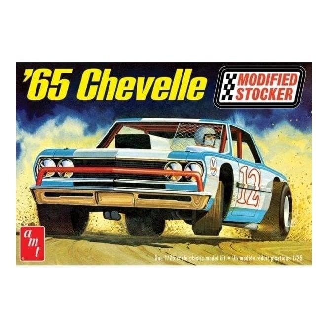 AMT 1:25 1965 Chevelle Modified Stocker Model Kit