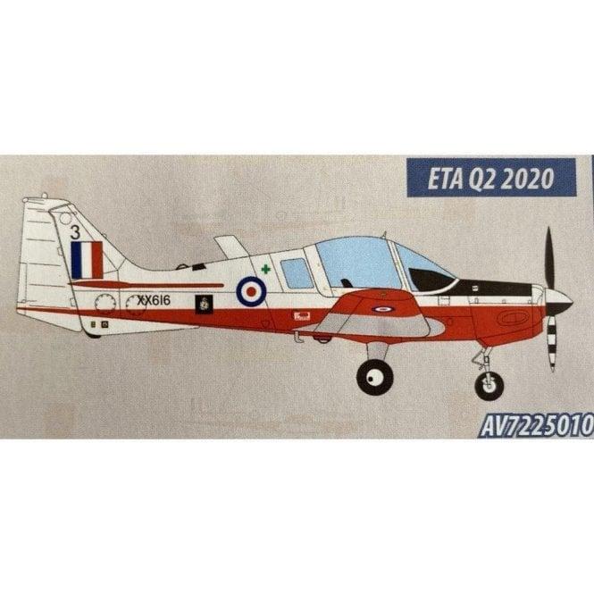 Aviation72 1:72 Scottish Aviation Bulldog Manchester UAS 1983 XX616