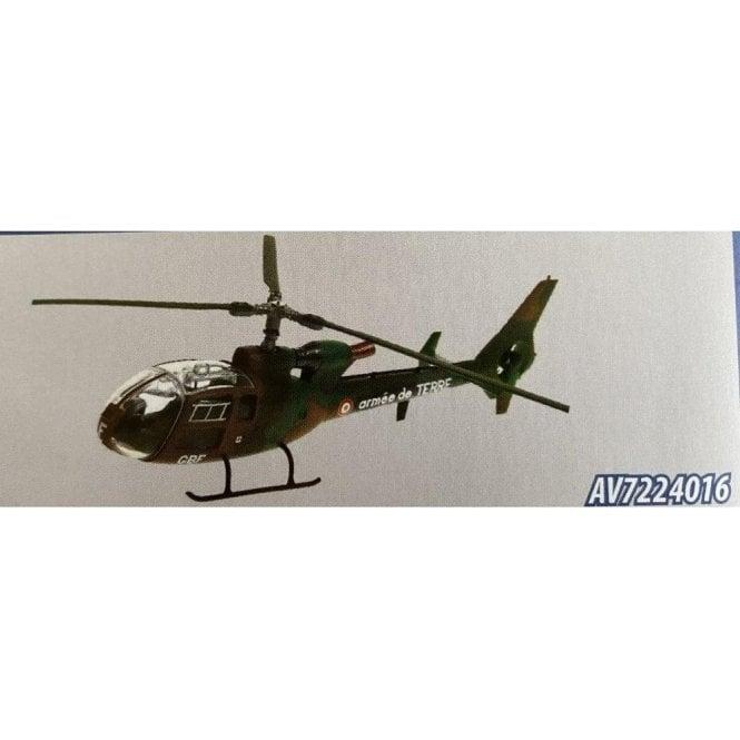 Aviation72 1:72 Westland Gazelle Armee De Terre Camo