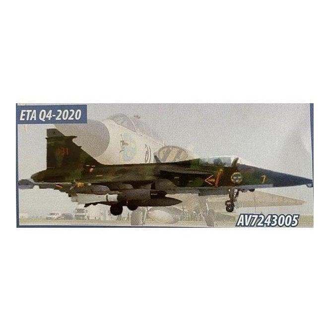 Aviation72 1:72 Saab Gripen JAS-39A Swedish Air Force '39131' Splinter