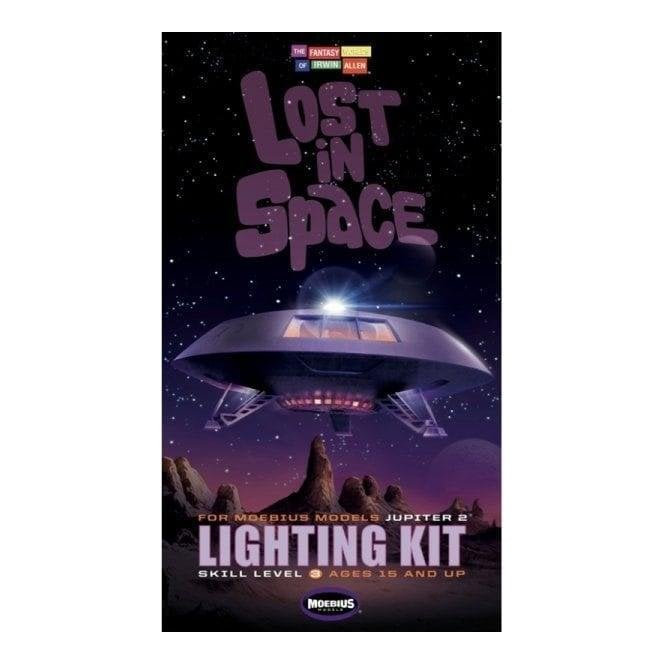 Moebius Models Lightning Kit for Lost in Space Jupiter 2 from the TV Series Model Kit