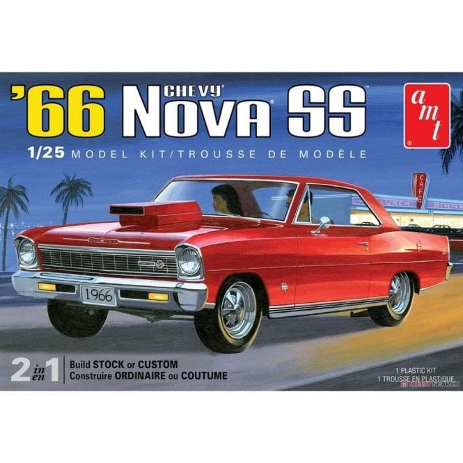 AMT 1:25 1966 Chevy Nova SS Model Kit