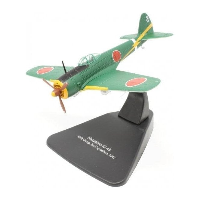 Oxford Diecast 1:72 Nakajima Ki-43 50th Group 2nd Squadron 1942