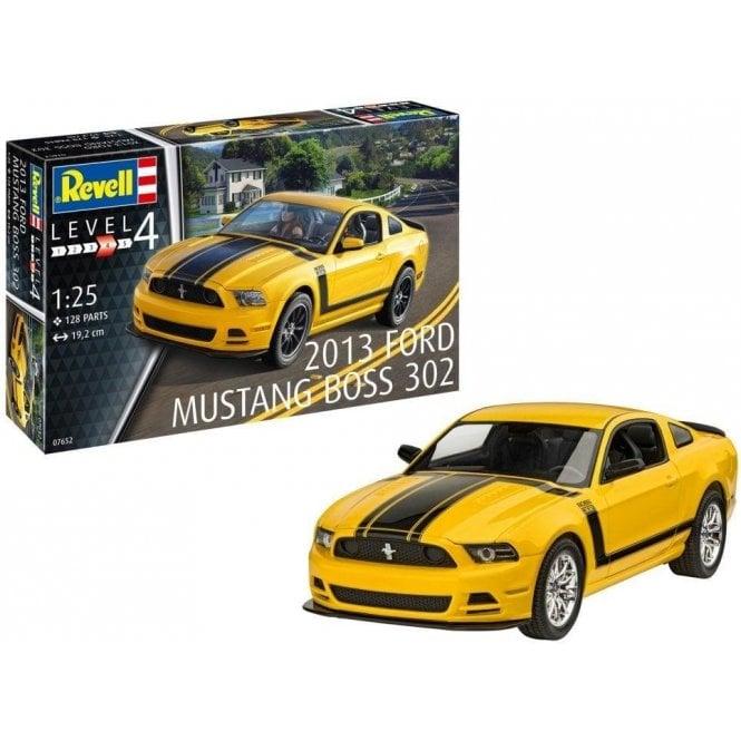 Revell 1:24 Ford Mustang Boss 302 2013 Car Model Kit