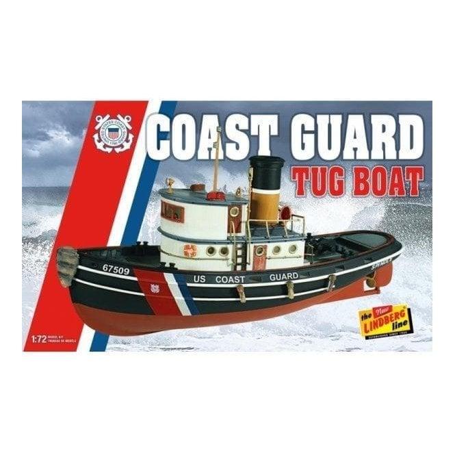 Linberg 1:72 US Coast Guard Tug Boat Kit