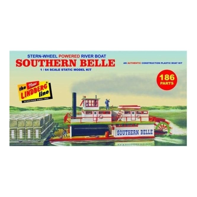 Linberg 1:64 Southern Bell Paddle Wheel Boat Kit