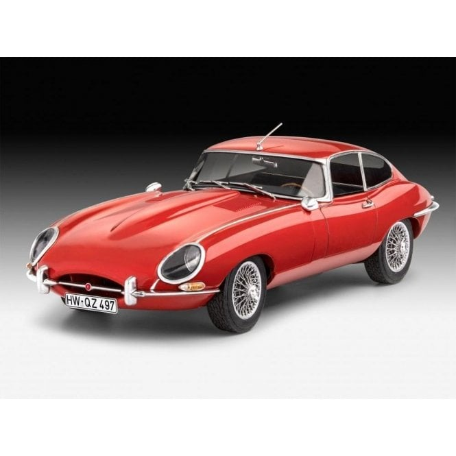 Revell 1:24 Jaguar E-Type Coupe Car Model Kit