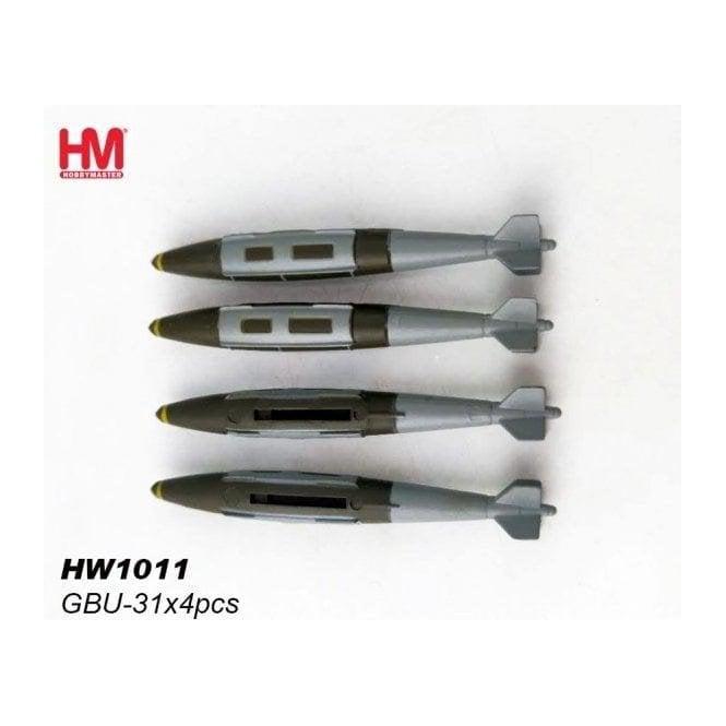 Hobby Master 1:72 GBU-31 x 4pcs Weapon Loads