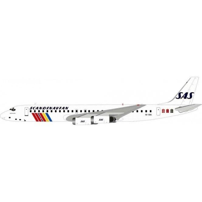 InFlight 200 Douglas DC-8-62 SAS Scandinavian Airlines - Reg SE-DBG - 1:200 Scale