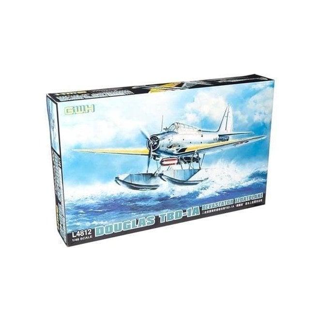 Great Wall Hobby 1:48 Douglas TBD-1A Devastator Floatplane Aircraft Model Kit
