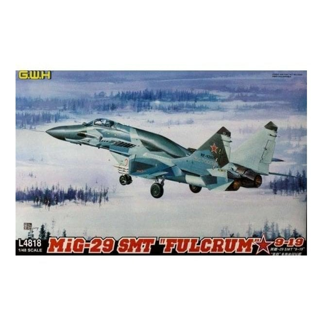 "Great Wall Hobby 1:48 MIG-29 SMT 9-19 ""Fulcrum "" Russian Airforce Aircraft Model Kit"