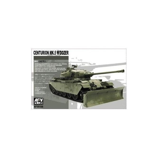 AFV Club 1:35 Centurion Mk.5 With Dozer Military Model Kit