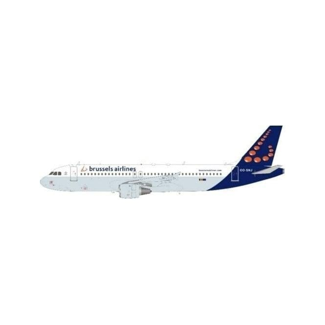 InFlight 200 Airbus A320-214 Brussels Airlines Reg - OO-SNJ - 1:200 Scale