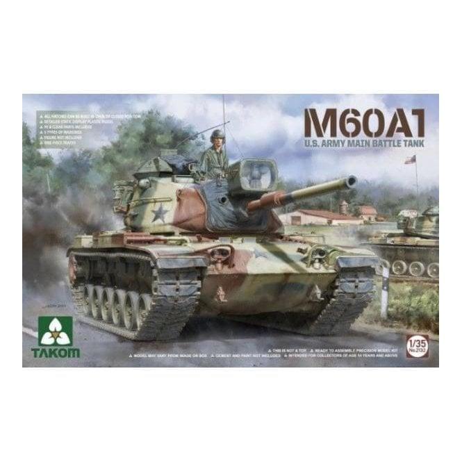 Takom 1:35 M60A1 US Army Main Battle Tank Model Military Kit