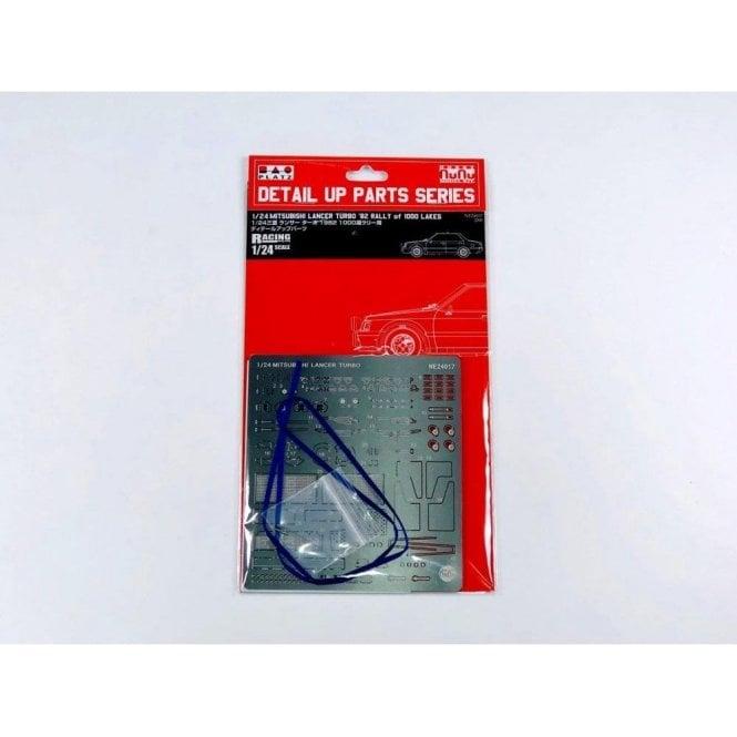 NUNU 1:24 Detail Up Parts for Model Kit Mitsubishi Lancer Turbo