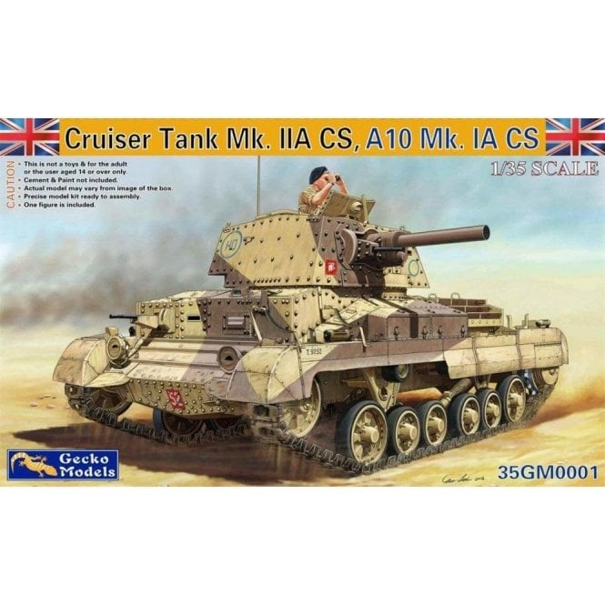 Gecko Models 1:35 Cruiser Tank Mk11ACS A10Mk 1A CS Military Model Kit