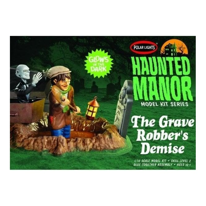 Polar Lights 1:12 Haunted Manor: The Grave Robber's Demise Diorama Kit