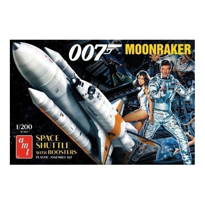 AMT 1:200 James Bond Moonraker Shuttle w/Boosters Model Kit
