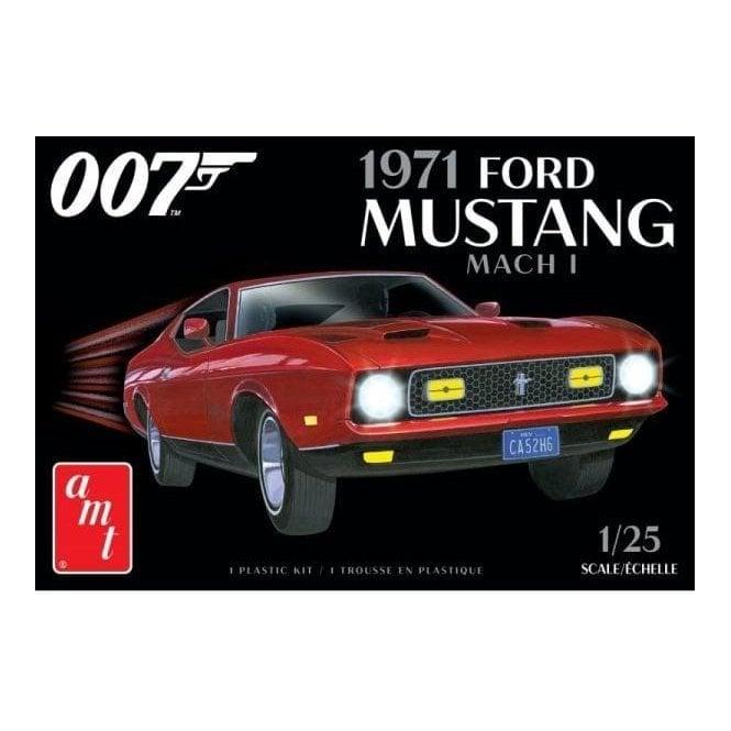 AMT 1:25 1971 Ford Mustang Mach I - James Bond Model Kit