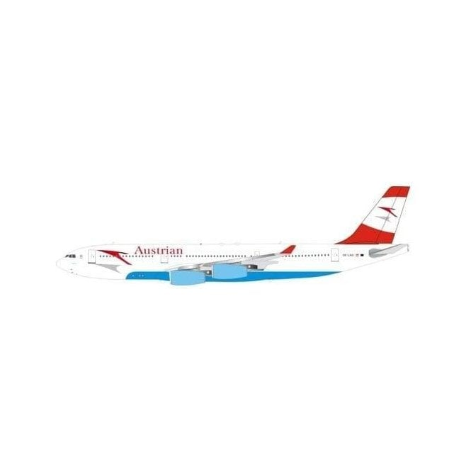 InFlight 200 Airbus A340-211 Austrian Airlines Reg - OE-LAG - 1:200 Scale