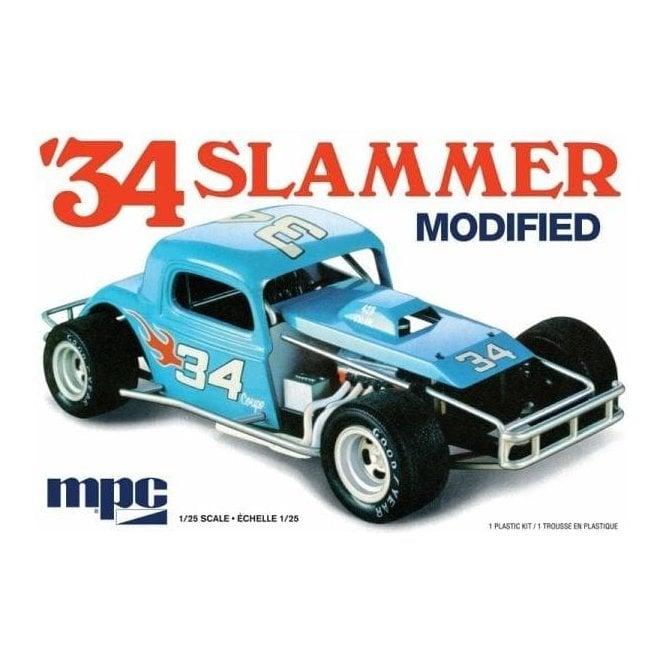 MPC 1:25 1934 Slammer Modified Car Model Kit