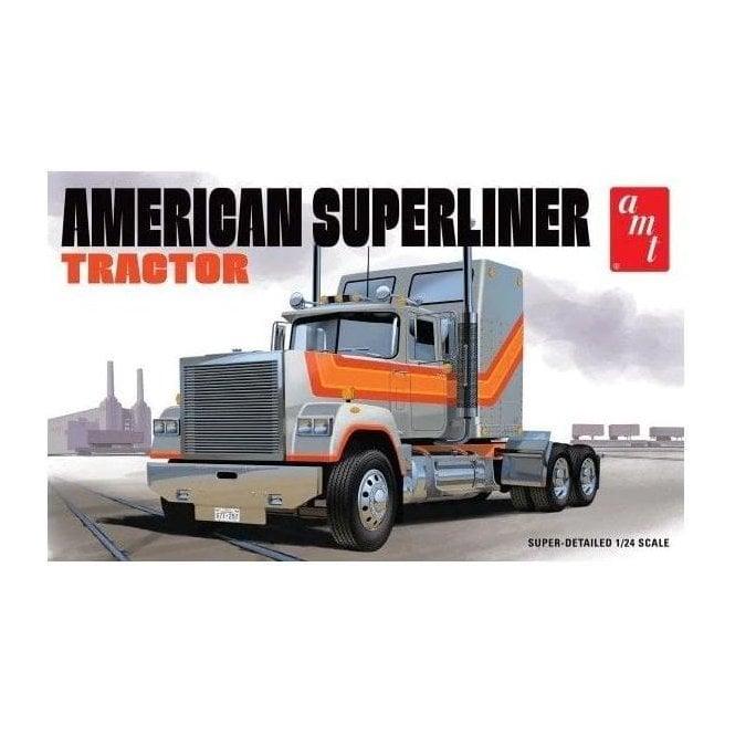 AMT 1:24 American Superliner Semi Tractor Truck Model Kit