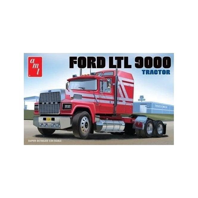 AMT 1:24 Ford LTL 9000 Semi Tractor Truck Model Kit