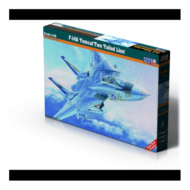 Mistercraft 1:48 F-14A Tomcat Two Tailed Lion Aviation Kit