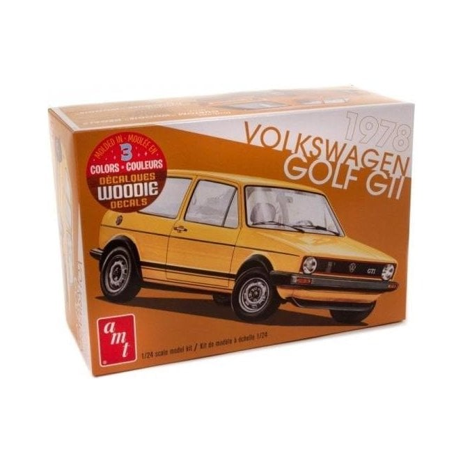 AMT 1:25 1978 Volkswagen Rabbit Car Model Kit