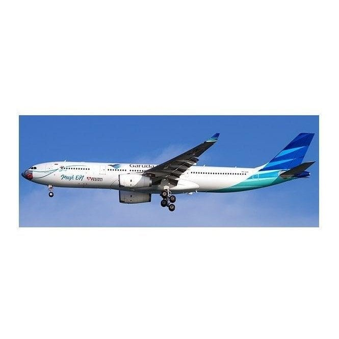 "JC Wings 1:200 Airbus A330-300 Garuda Indonesia ""Mask On"" - Reg PK-GHC"