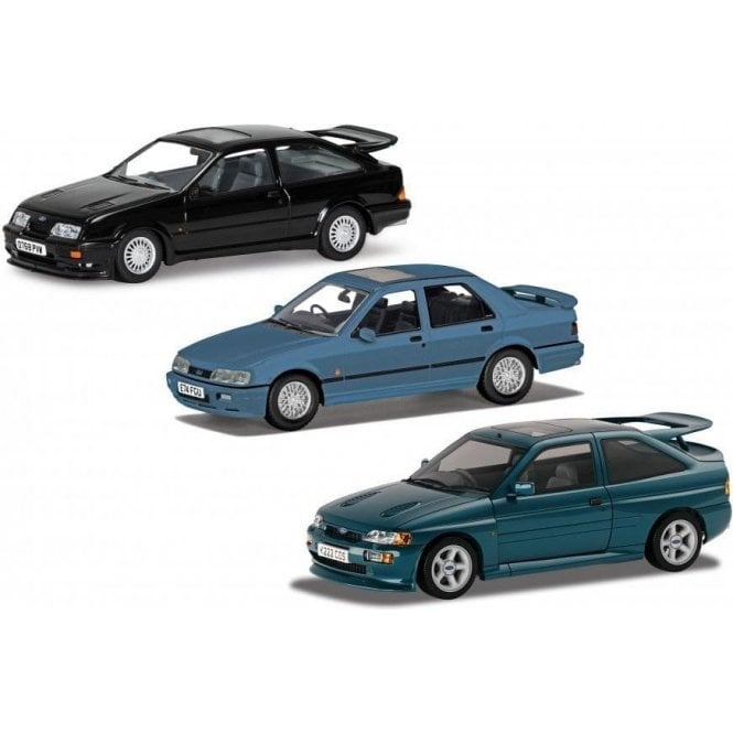 Corgi Vanguards 1:43 Ford RS Cosworth Collection Model Cars